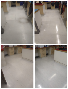 CSG Cleaning - Floors Before and After
